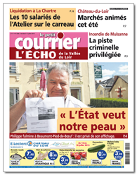 Abonnement Le Courrier - L'Echo Papier